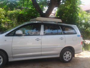Cab Rental Toyota Innova