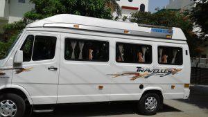Rent Tempo Traveler in Jaipur