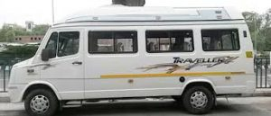 18 Seater Tempo Traveller Exterior
